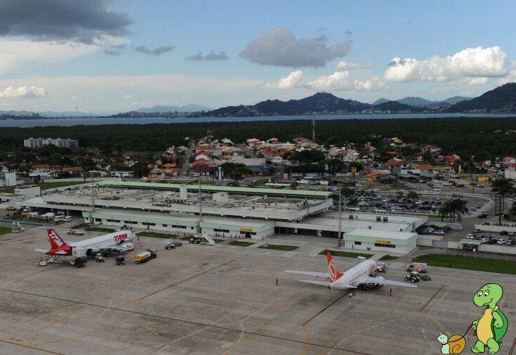 Aeroporto Em Sc : Florianópolis viabilização do novo terminal aeroporto