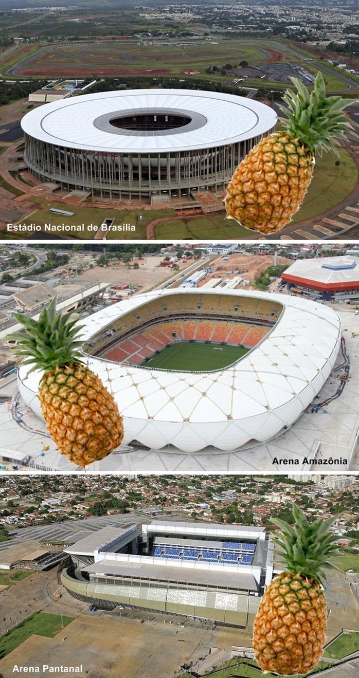 25fdb7a6c O legado da Copa – Superdimensionados, três estádios correm risco de  virarem elefantes brancos após Mundial   Abobado